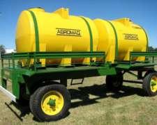 Acoplado Tanque Plástico Agromaq De 7000 Lts.