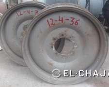 Llantas 12-4-36 Centro Tractor Deutz