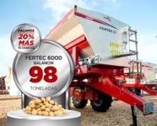 Fertilizadora / Abonadora Fertec 6000 Balancín
