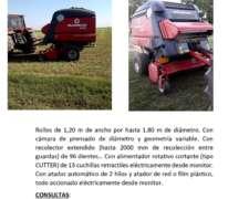 Rotoenfardadora Mainero 5832 (con Cutter)