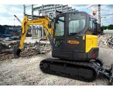 Miniexcavadora New Holland E60c - GRM