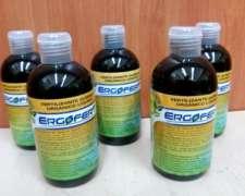 Fertilizante Orgánico Líquido X 250 Ml. Ergofert
