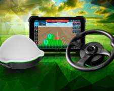Piloto Automático Campo Preciso Direct Drive y Display DUX 8