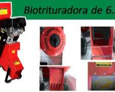 Biotrituradora Chipeadora Torotrac 6,5hp