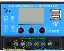 Reguladores de Carga de Baterías Inteligentes - Quor