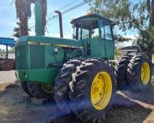 Tractor Articulado John Deere 8440 con Duales