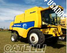 Cosechadora New Holland Cs660 S Flow Año 2008