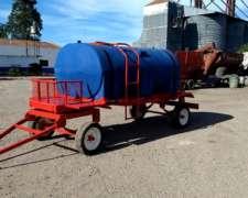 Acoplado Tanque De 3500 Lts, Rotor, Nuevo Disponible