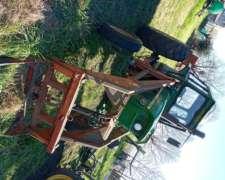 Tractor con Pala John Deere 3420