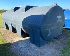 Tanque Plastico Rotor Horizontal de 12.000lts Disponible