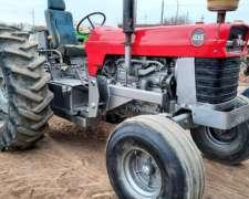 Mf 1095 Rodado 38 con Pala Frontal y Retroexcabador