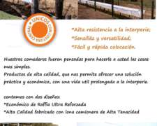 Comederos Vacunos Feed Lots - Lonasalex