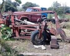 Tractor con Desmontadora Frontal
