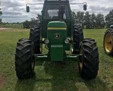 Tractor John Deere 3550 DT, Rodado 18.4-38