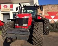 Tractor Massey Ferguson MF 8727 Dyna VT Europeo con 270 CV