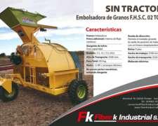 Embolsadora de Granos sin Tractor Fiber K