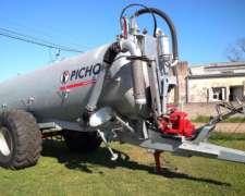 Estercolera Pichon TCI 10 - de 10.400 Litros- Galvanizada