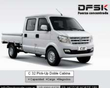 Dfsk C32 Pick-up Doble Cabina 1200kg 0km