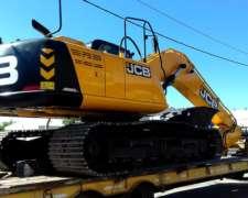 Excavadora Sobre Orugas Jcb Js220 / 20 Toneladas