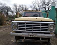 Ford 7000 Volcador Perkins Fase 4 Turbo
