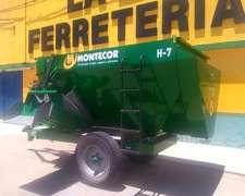 Mixer Montecor 7 Metros