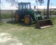 John Deere 6600 Cabina Aacc, Pala Frontal, 3 Puntos, Caja PO