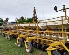 Sembradora Ascanelli 21 Lineas Fertilización al Costado