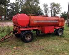 Acoplado Tanque Belén 3000 Litros Usado – Arenado y Pintado