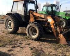Tractor Valtra BM100 con Pala