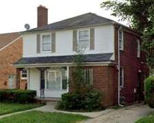 Casa 3 Dormitorios Detroit USA Renta Anual del 7,42