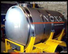 Tanque Transporte 2500 Ltrs.