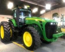 Tractor John Deere 8330 con Piloto