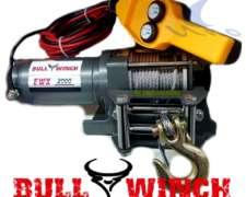 Malacates Bull Winch De 2000 A 15000 Libras - 2.018 / Nuevos