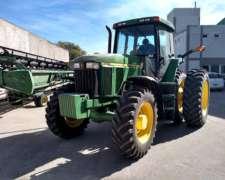 Tractor John Deere 7810. Excelente Estado