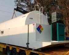 Tanque Para Combustibles Sobre Batea Antiderrame Marca Sokam