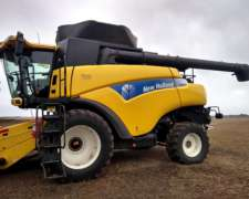 New Holland CR980 año 2008. Draper 35 Pies. DT - Dual