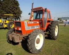 Tractor Fiat 115-90 Doble Embrague, Con Aire. Excelente