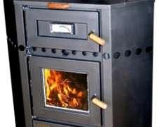 Calefactor A Leña Lepen Rinconero Con Horno 19000