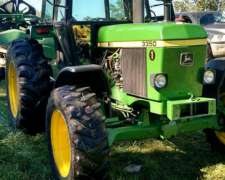 Tractor 3350 John Deere Doble Traccion con Aire Impecable
