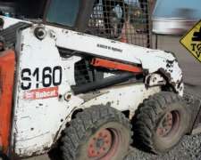 Minicargadora Bobcat S160 2007 5600hs Financio Todo Vial