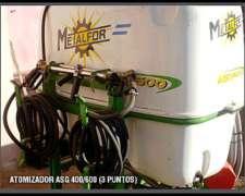 Atomizador Metalfor Asg 600 (3 Puntos)