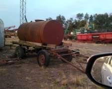 Tanque de 2800 Lts con Ruedas