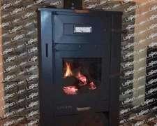 Calefactor Lepen A Leña 17000 Kcal Con Horno