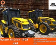Tractor Pauny 180a 4X4