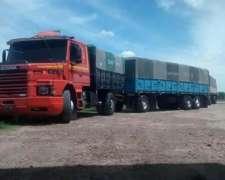 Scania 112 Mod 84 Mecanica Muy Buena , Engomado Oportunid