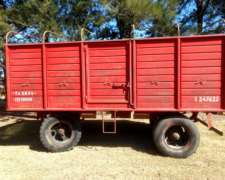 Acoplado Rural Capacidad 10 Toneladas Ruedas Duales 8,25