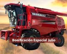 Cosechadora Vassalli 770 - Bonificación Especial