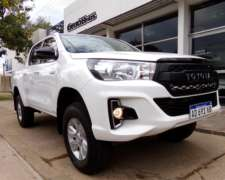 Hilux D/C 2.8 TDI SR 4X4 año 2019, Impecable Orio Hnos