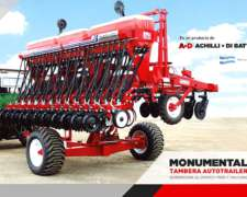 Sembradora Monumental Autotrailer 4600 Granos Finos, Alfalfa