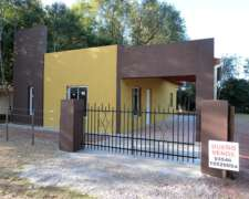 Dueño Vende Casa A Estrenar En Villa Del Dique, Calamuchita